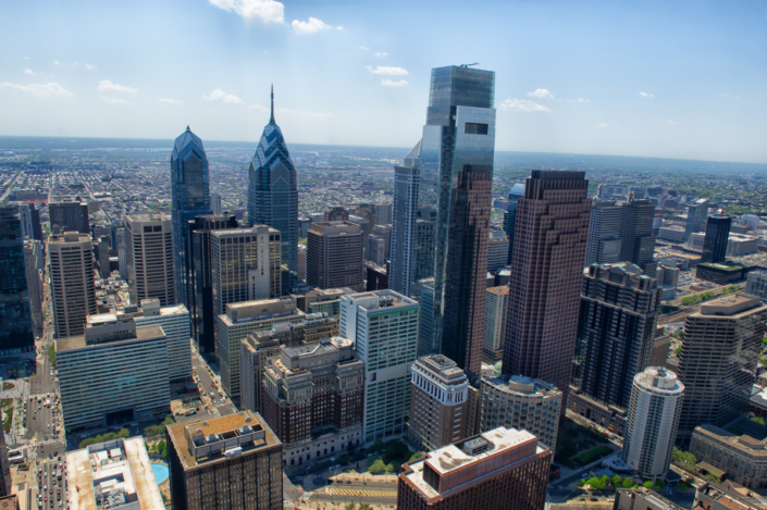 Philadelphia architectural photography, Philadelphia, Photographer, Michael Albany, aerial,